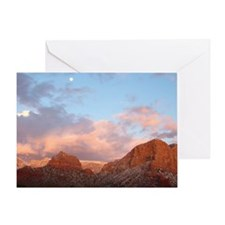 Sedona at Sunset Greeting Card