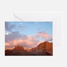 Sedona at Sunset Greeting Card