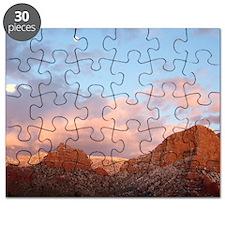 Sedona at Sunset Puzzle