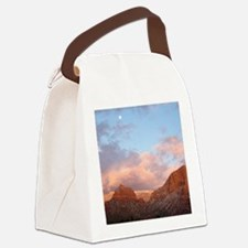 Sedona at Sunset Canvas Lunch Bag