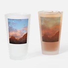 Sedona at Sunset Drinking Glass