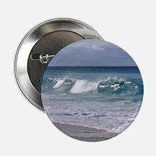 "Waves on Friendly Beach 2.25"" Button"