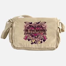 twilight valentine old world heart Messenger Bag