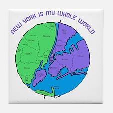new-york-planet Tile Coaster