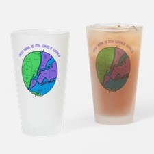 new-york-planet Drinking Glass