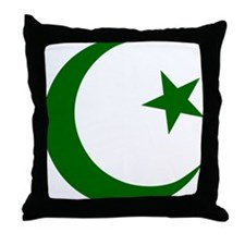 pakistanD Throw Pillow