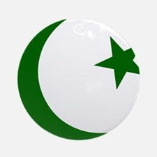pakistanD Round Ornament