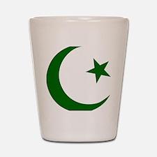 pakistanD Shot Glass