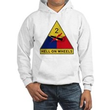 2nd Armored Division - Hell On W Hoodie