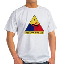 2nd Armored Division - Hell On Wheel T-Shirt