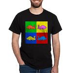 Pop Art Rabbit Dark T-Shirt