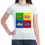 Pop Art Rabbit Jr. Ringer T-Shirt