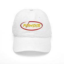 PowderLogoSmNoBkg Baseball Cap