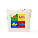 Pop Art Rabbit Tote Bag