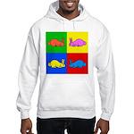 Pop Art Rabbit Hooded Sweatshirt
