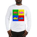 Pop Art Rabbit Long Sleeve T-Shirt