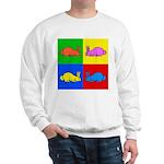 Pop Art Rabbit Sweatshirt