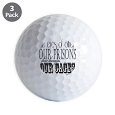 the eyes of others our prisons Golf Ball