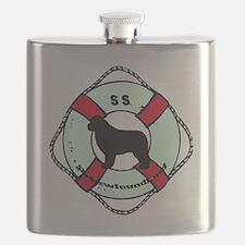 SS Newfoundland Dog Flask