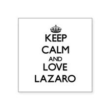 Keep Calm and Love Lazaro Sticker