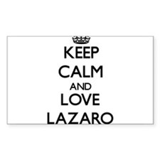 Keep Calm and Love Lazaro Decal