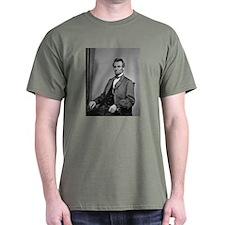 Pres Abraham Lincoln Green T-Shirt