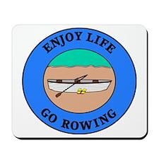 rowing4 Mousepad