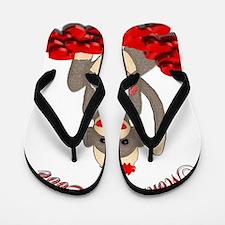 MONKEY LOVE 4U Flip Flops