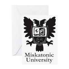 MU Heraldic Crest Greeting Card