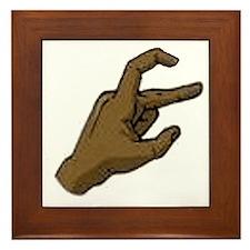 hand Framed Tile