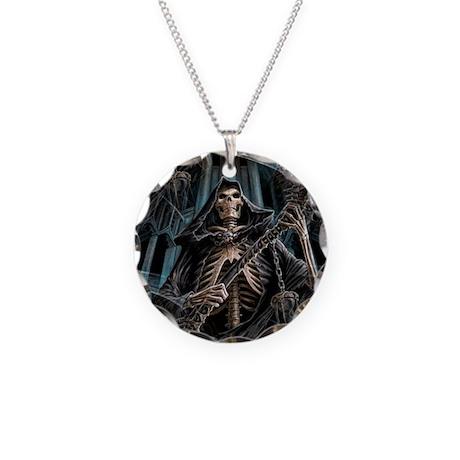 Grim reaper scythe evil 6 necklace by admin cp12558999