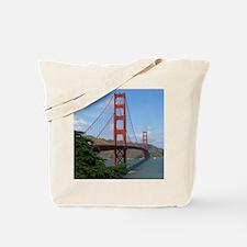Cute Golden gate bridge photo Tote Bag