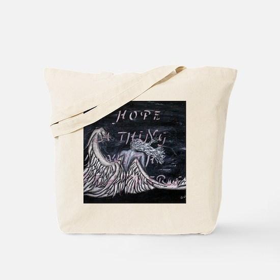 Crying Angel Hope Tote Bag