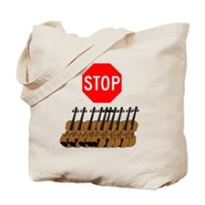 Stop the Violins.gif Tote Bag