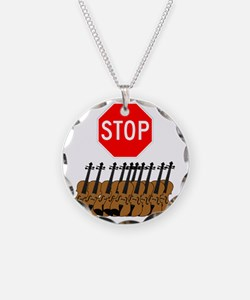 Stop the Violins.gif Necklace