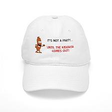 Not A Party Until Kielbasa Mug Baseball Cap