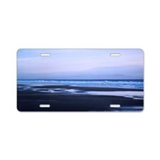 Stinson Beach Aluminum License Plate