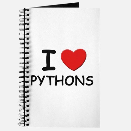 I love pythons Journal