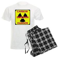 DANGER-CARBON-EMISSIONS pajamas