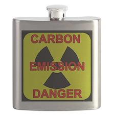 DANGER-CARBON-EMISSIONS Flask