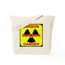 DANGER-CARBON-EMISSIONS Tote Bag