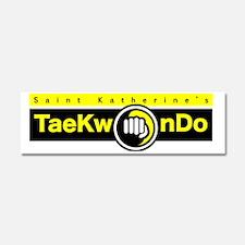 SK_Taekwondo_header Car Magnet 10 x 3