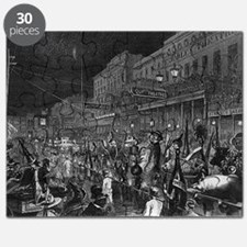 Mystick Krewe of Comus- 1867 Puzzle