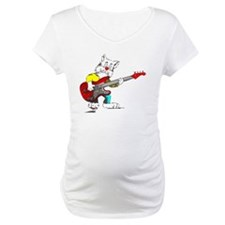 Bass Guitar Cat for Dark Apparel Shirt