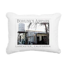 BOHUNKER Rectangular Canvas Pillow