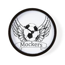 Mockers Angel 2 Wall Clock