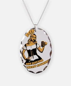 Beer - Not Just For Breakfast  Necklace