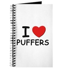 I love puffers Journal