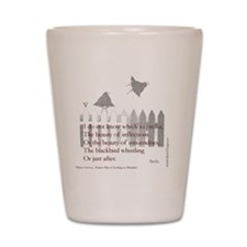 Poem V Shot Glass