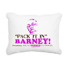 Pack it inBarneyYARD Rectangular Canvas Pillow